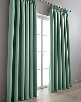 Eclipse Blackout Pencil Pleat Curtains