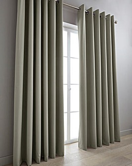 Eclipse Woven Blockout Eyelet Curtains