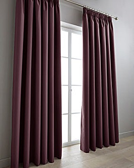 Eclipse Coated Blackout Pencil P Curtains Long