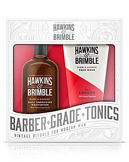 Hawkins & Brimble - Face Wash & Daily Moisturiser Gift Set