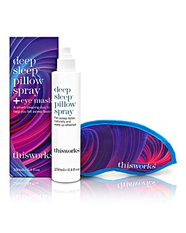 This Works Deep Sleep Pillow Spray & Eye Mask Gift Set