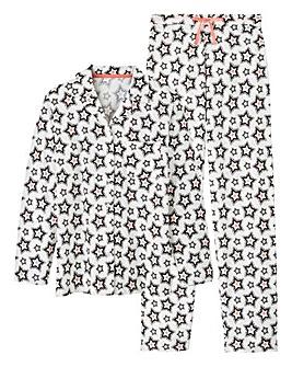 Pretty Secrets Soft Button Front Pyjamas