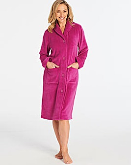 Pretty Secrets Button Fleece Gown
