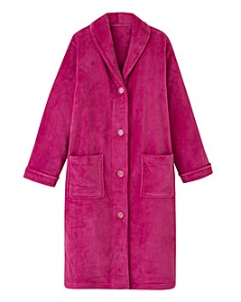 Pretty Secrets Button Fleece Gown