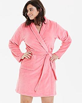 Pretty Secrets Fleece Wrap Gown