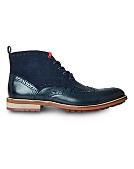 Joe Browns Blue Note Leather Brogue Boot