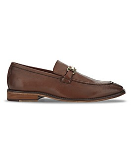 Joe Browns Leather Snaffle Loafer Wide