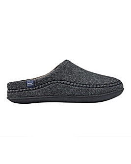 Joules Felt Mule Slip On Slipper