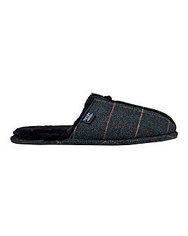 Joules Furlton Tweed Mule Slipper