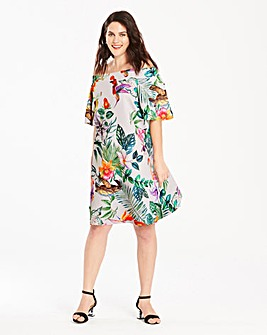 Bardot Scuba Dress