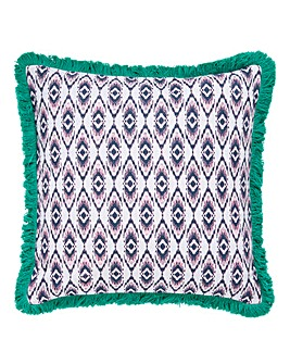 Bohemian Ikat Cushion