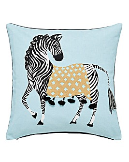 Zebra Design Front Cushion