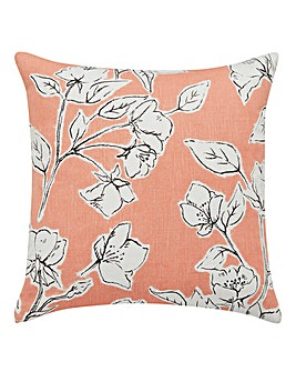Floral Sketch Cushion