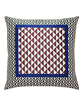 Scarf Print Sateen Cushion