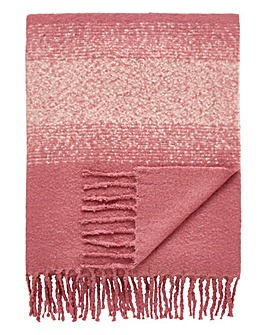 Ombre Stripe Throw