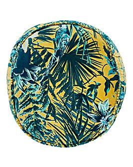 Round Amazon Jungle Cushion