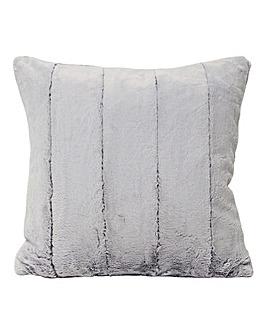 Empress Faux Fur Cushion Grey