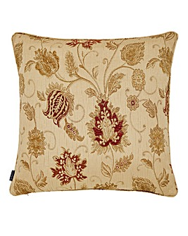 Zurich Patterned Cushion Champagne