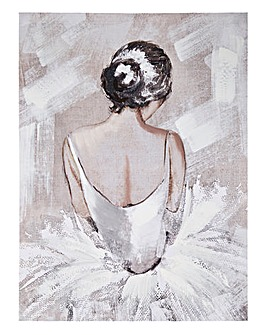 Ballerina Portait Canvas