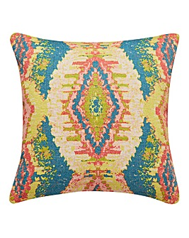 Ikat Printed Cushion