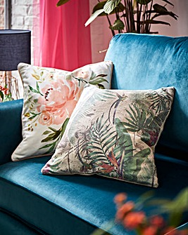 Okan Floral Cushion