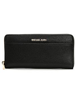 Michael Kors Pebbled Pocket Wallet