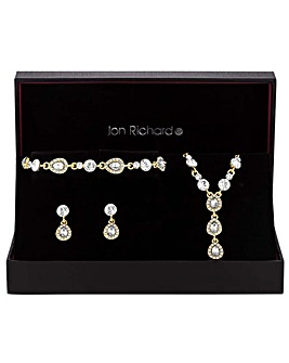 Jon Richard Peardrop Jewellery Set