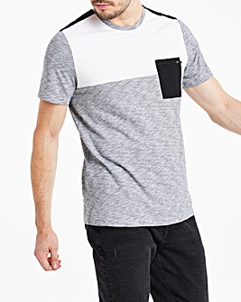 Mono Cut and Sew T-Shirt