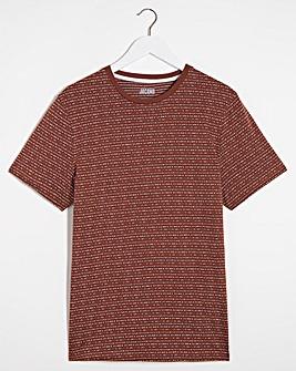 Jaquard Stripe T-Shirt