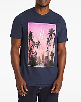 LA Graphic T-Shirt Long