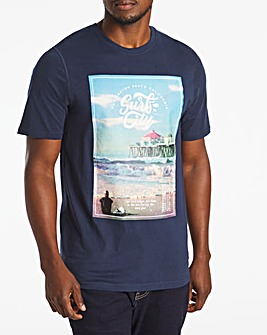 Surf City Graphic T-Shirt Long