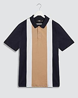 Vertical Stripe Polo