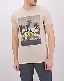 Take It Easy Graphic T-Shirt
