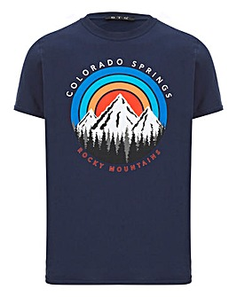 Colorado Mountain Graphic T-Shirt