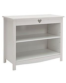 Mia White 3 Shelf Bookcase