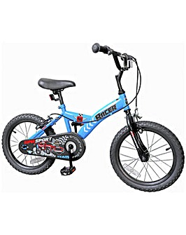 Racer 16 inch Wheel Size Kids Bike