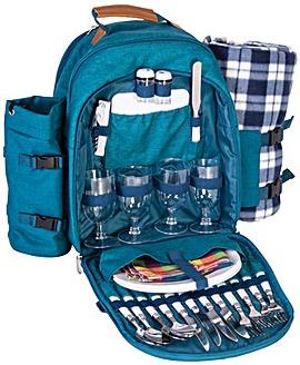 Gosforth 4 person picnic set