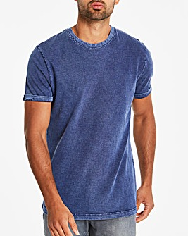 Washed Muscle Fit T-Shirt