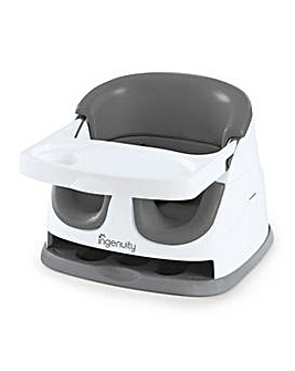 Ingenuity Baby Base 2-in-1 Booster Feeding and Floor Seat