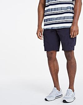 Navy Fully Elasticated Axel Shorts