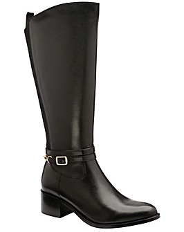 Ravel Raglan Leather Knee High Boots