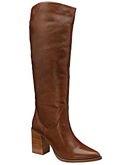 Ravel Lumsden Leather Knee High Boots