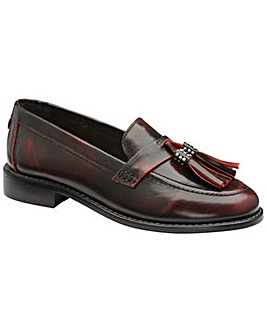 Ravel Levin Leather Low Heel Loafers
