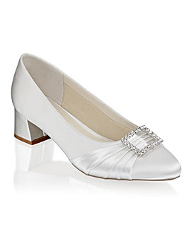 Paradox London Brittney Wide E Fit  Court Shoes