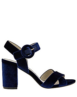 Monsoon Viola Velvet Occasion Sandal