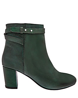 Monsoon Bel Strap Leather Ankle Boot