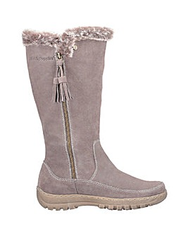 Hush Puppies Mabel Zip Long Boot