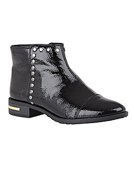 Lotus Abrielle Shiny Ankle Boots