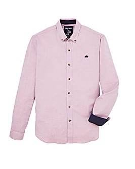 Raging Bull Mighty Plain Oxford Long Sleeve Shirt