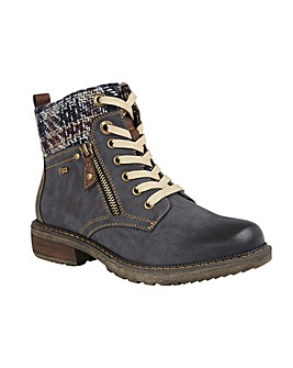Lotus Relife Nancy Zip-Up Ankle Boots